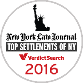 New York Law Journal Top Settlements of NY