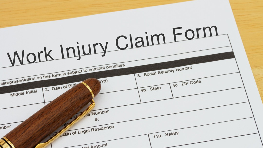 claim compensation for on job injuries