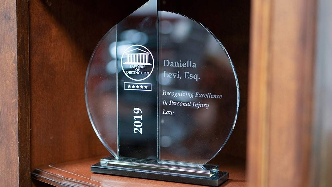 award for best personal injury attorney