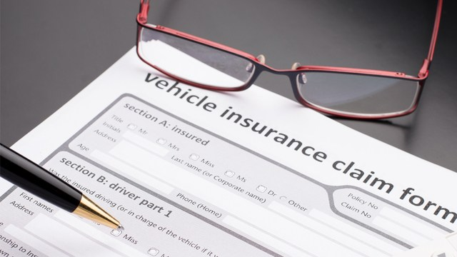 vehicle accident insurance claim form